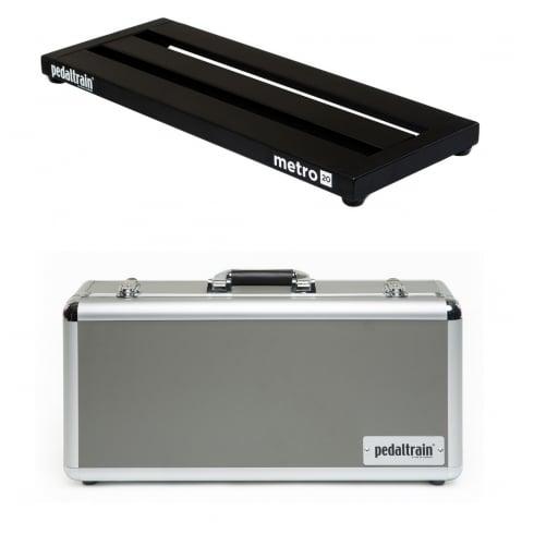 Pedaltrain METRO 20 Pedal Board with Tour Case