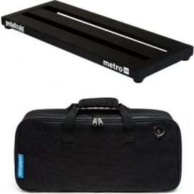 Pedaltrain Metro 20 Pedalboard with Fitted Black Softcase