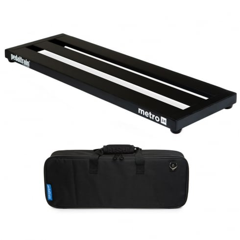 Pedaltrain METRO 24 Pedal Board with Fitted Soft Case