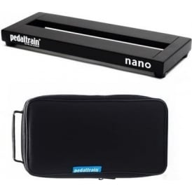 Pedaltrain Nano Pedalboard with Black Soft Case for Guitar Effects Pedals