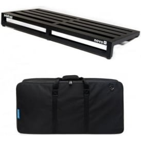 Pedaltrain NOVO 32 Pedal Board with Fitted Soft Case