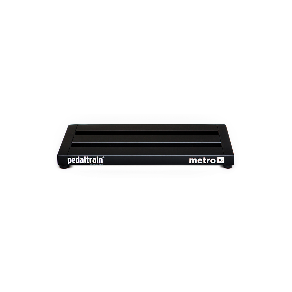 pedal train metro 16 effects pedalboard with fitted black softcase. Black Bedroom Furniture Sets. Home Design Ideas