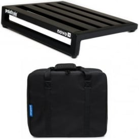 Pedal Train Novo 18 Guitar Effects Pedalboard with Fitted Black Softcase