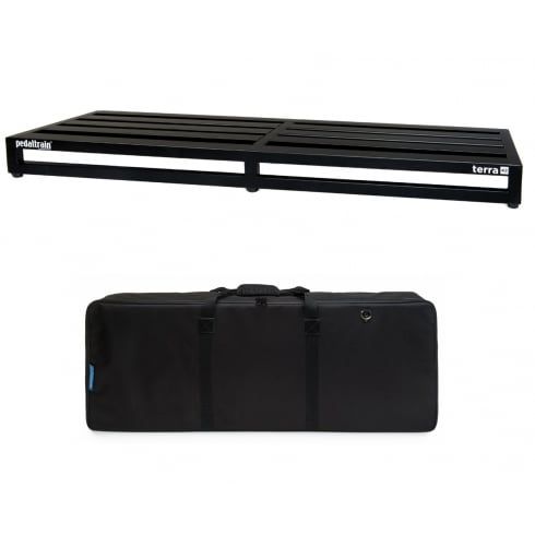 Pedaltrain TERRA 42 Pedal Board with Fitted Soft Case