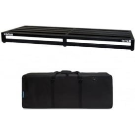 Pedaltrain Terra 42 Pedalboard with Fitted Black Softcase