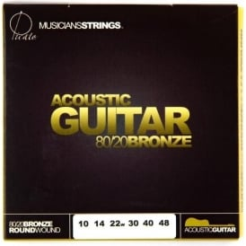 Picato 600 80/20 Bronze 10-48 Extra Light 90600 Acoustic Guitar Strings