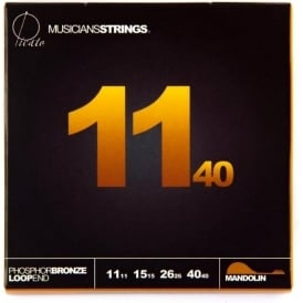 Picato 650MM Loopend Phosphor Bronze Mandolin Strings Medium