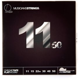 Picato Chrome Tape Flatwound 11-50 Extra Light 97915 Electric Guitar Strings