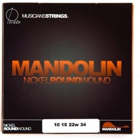 Picato Mandolin 8-String Nickel Ballend 10-34 Light Strings