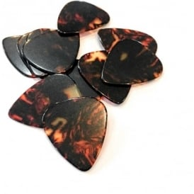 Picato Shell Plectrums, 12-Pack, Thin