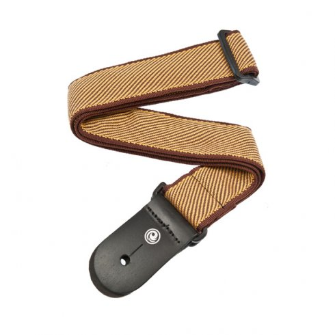 "Planet Waves 2"" Wide Woven Tweed Guitar Strap"