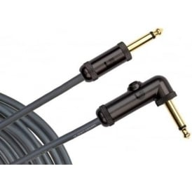 Planet Waves 20ft Momentary Circuit Breaker Instrument Cable Straight-Angled Jacks PW-AGRA-20