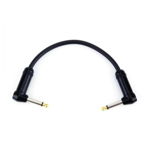 """Planet Waves American Stage 1/4"""" Guitar Effects Patch Cable 6 inches PW-AMSPRR-105"""