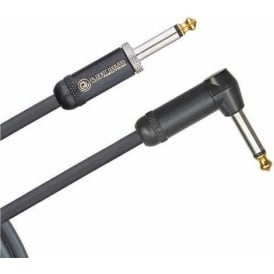 Planet Waves American Stage 20ft Instrument Guitar Cable Straight to Angled Jacks