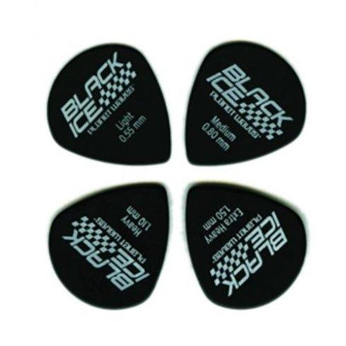 Planet Waves Black Ice Guitar Picks 10-Pack .80mm Medium