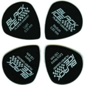 Planet Waves Black Ice Jazz 10-Pack 1.10mm Heavy Guitar Plectrums