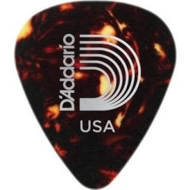 Planet Waves Celluloid Standard Shell Guitar Pick 25-Pack Heavy