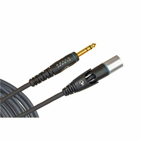 Planet Waves Custom Series 10ft Microphone Cable XLR Male Swivel