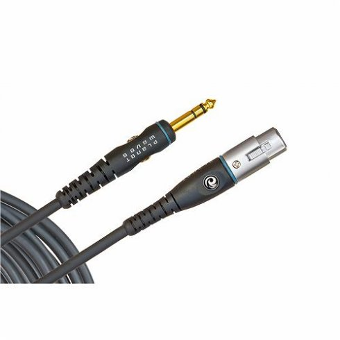 """Planet Waves Custom Series 25ft Microphone Cable XLR - 1/4"""" Jack"""