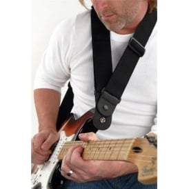 Planet Waves Dare 50mm Black Guitar Strap - Great for Heavy Guitars & Basses