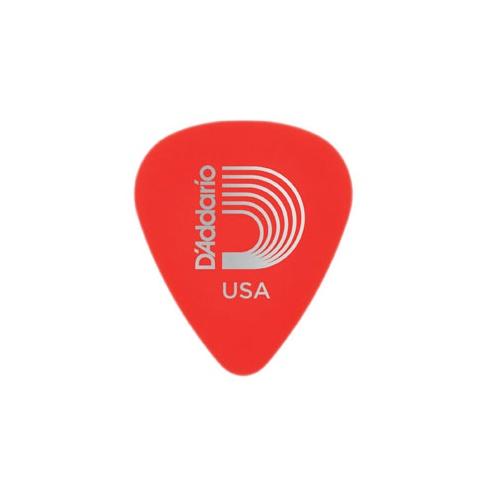 Planet Waves Duralin Standard Pick 10-Pack .50mm Gauge Red Super Light Guitar Plectrums