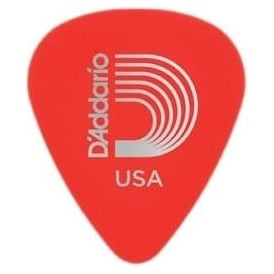 Planet Waves Duralin Standard Pick 10-Pack .50mm Gauge Red Super Light Guitar Plectrums
