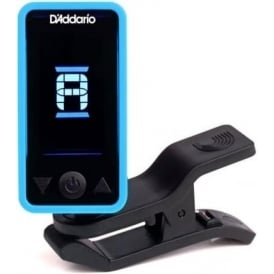 Planet Waves ECLIPSE Clip-On Headstock Guitar Tuner, Blue