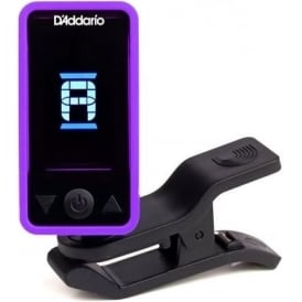 Planet Waves ECLIPSE Clip-On Headstock Guitar Tuner, Purple