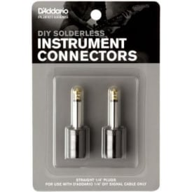 "Planet Waves Guitar Cable Kit 1/4"" Straight Plug Pack of 2 PW-GP-2"