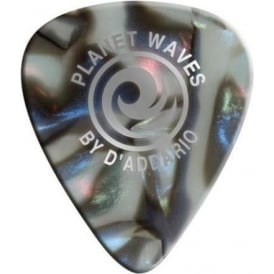 Planet Waves Heavy Gauge Abalone Celluloid Guitar Picks 1mm (10-Pack)