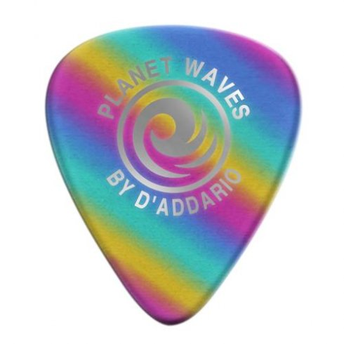 Planet Waves Heavy Gauge Rainbow Celluloid Guitar Picks (10-Pack)