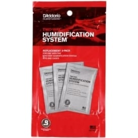 Planet Waves Humidipak Standard Replacement Packette 3-Pack