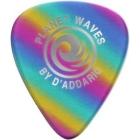 Planet Waves Medium Gauge Rainbow Celluloid Guitar Picks (10-Pack)
