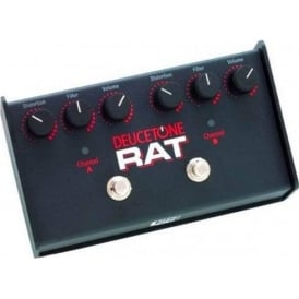Pro Co Deucetone Rat 2-Channel Guitar Distortion Pedal