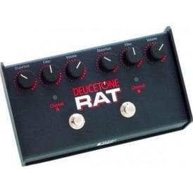 Pro Co Deucetone Rat 2-Channel Guitar Distortion Pedal Stompbox