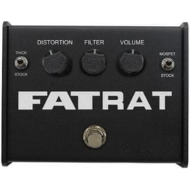 Pro Co Rat Fat Rat Distortion Guitar Effects Pedal Stompbox