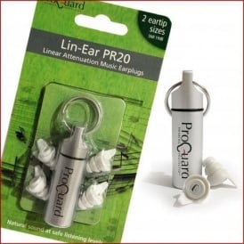 Pro-Guard Linear Attenuation PR20 Earplugs for Musicians