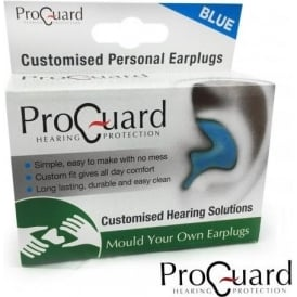 ProGuard 'Make Your Own' Blue Earplugs for Music, Sleeping, Motor Bikes & more