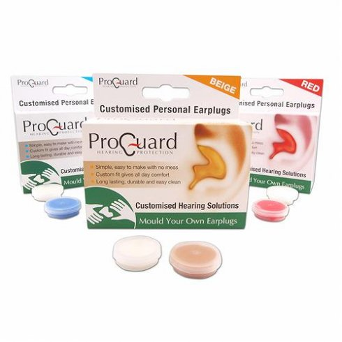 Pro-Guard Ear Protec ProGuard 'Make Your Own' Earplugs - Beige