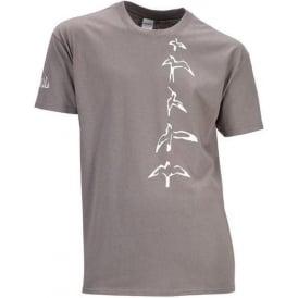 PRS Birds Charcoal T-shirt Medium