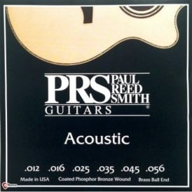 Paul Reed Smith 12-56 Coated Phosphor Bronze Acoustic Guitar Strings