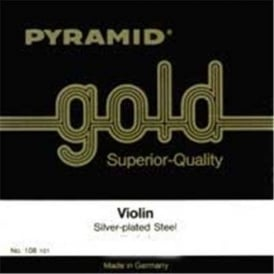 Pyramid 108100 Gold 1/8 Student Violin Strings