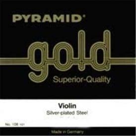 Pyramid 108100 Gold 1/8 Student Violin Strings