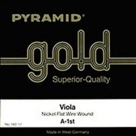 Pyramid 140100 Gold 1/4 Student Viola Strings
