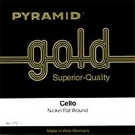 Pyramid 173100 Gold 1/8 Student Violin-Cello Strings