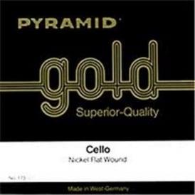 Pyramid 173100 Gold 1/8 Student Violin-Cello Strings