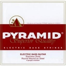 Pyramid 5-String LB Five Lite Stainless Steel 40-126 Long Scale Bass Guitar Strings