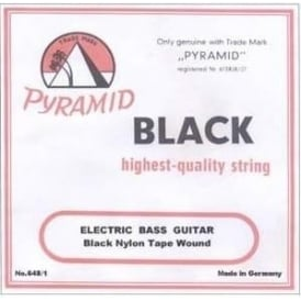 Pyramid 508/BT Black Tape Nylon Strings for Bass Ukulele