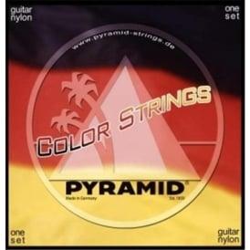Pyramid Coloured Nylon Medium Tension Classical Guitar Strings C341200