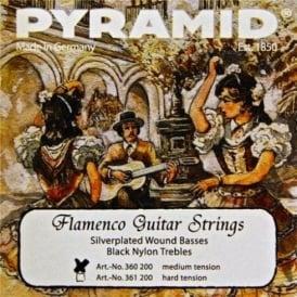 Pyramid Flamenco Nylon Normal Tension Guitar Strings
